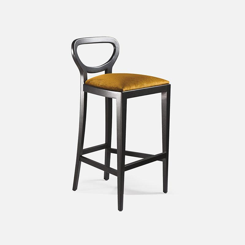 Cabaret High Stool-Collinet-Contract Furniture Store