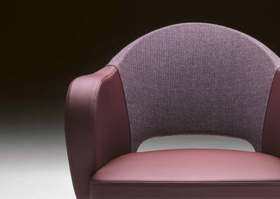 Agatha Armchair c/w Metal Legs-Metalmobil-Contract Furniture Store