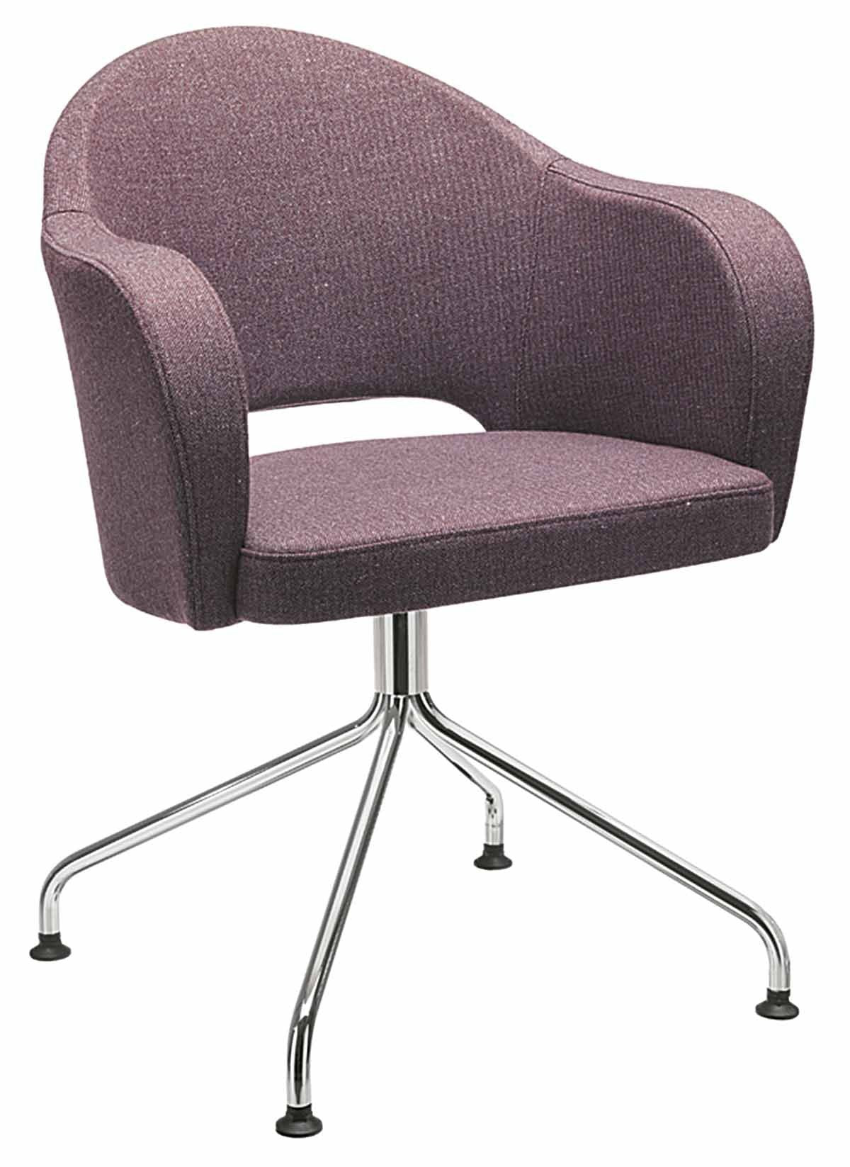 Agatha Armchair c/w Spider Base-Metalmobil-Contract Furniture Store