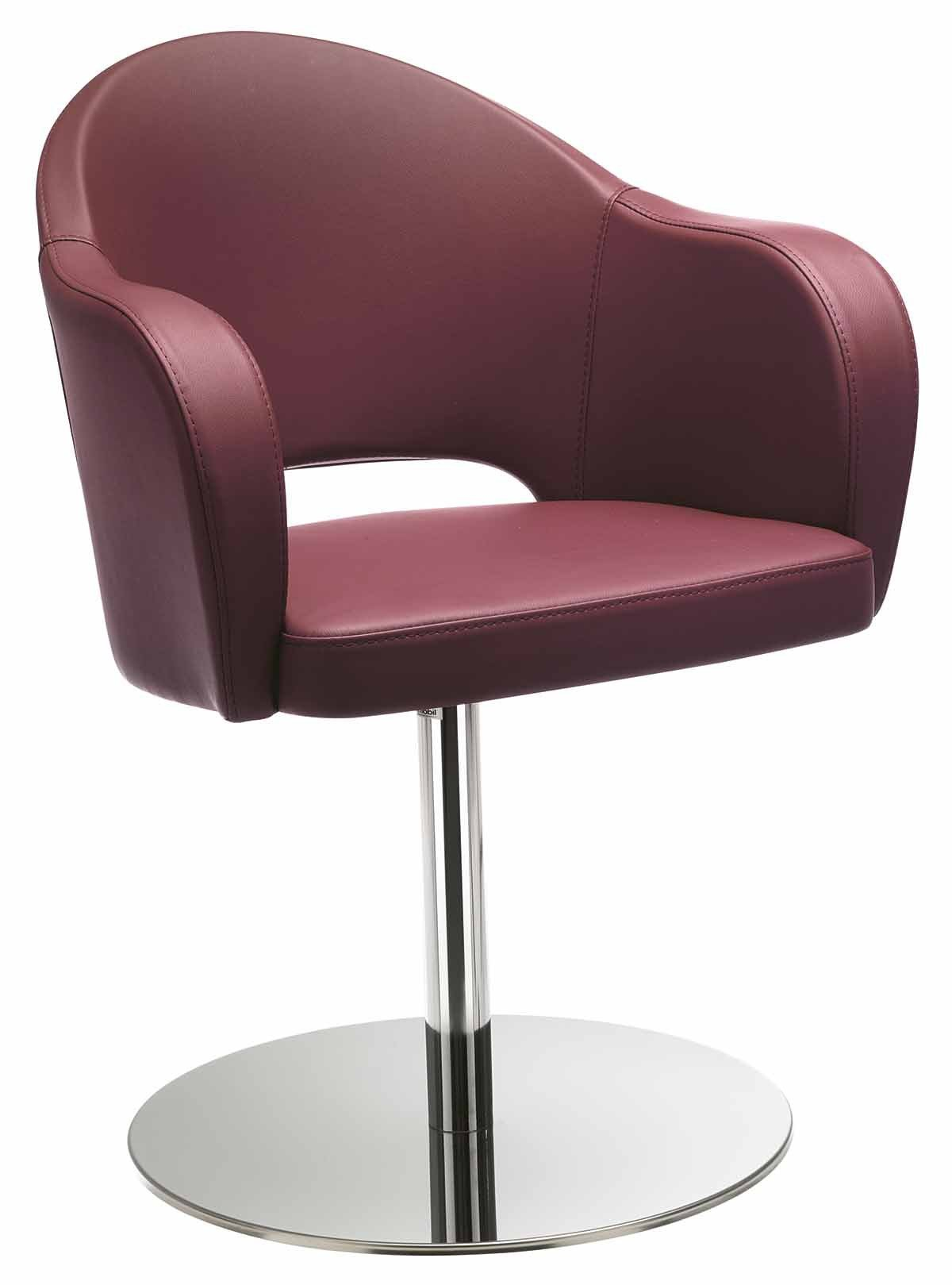 Agatha Armchair c/w Swivel Base-Metalmobil-Contract Furniture Store