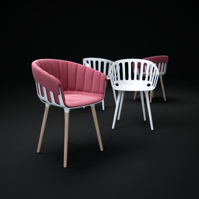 Basket Armchair c/w Spider Base-Gaber-Contract Furniture Store