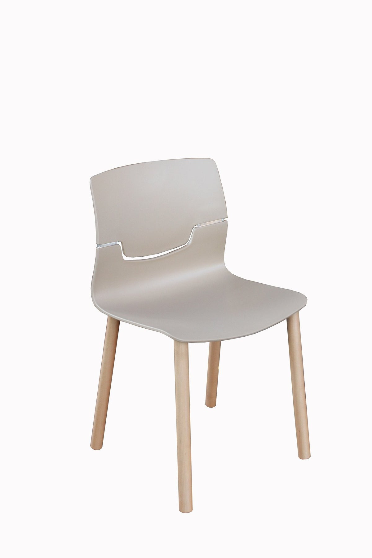 Slot Side Chair c/w Wood Legs-Gaber-Contract Furniture Store