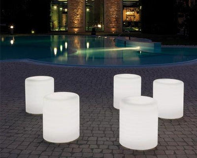 Wow Luminous External 475E Low Stool-Pedrali-Contract Furniture Store