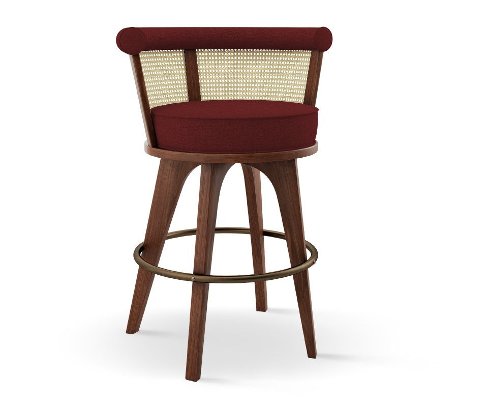 George High Stool-Wood Tailors Club-Contract Furniture Store