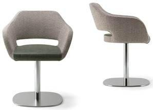 Manu 04 Armchair c/w Swivel Base-Torre-Contract Furniture Store
