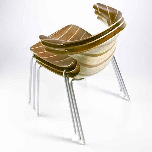 Loop 3D Vinterio Side Chair c/w Metal Legs-Infiniti-Contract Furniture Store