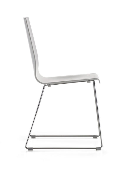 Kuadra 1158 Side Chair-Pedrali-Contract Furniture Store