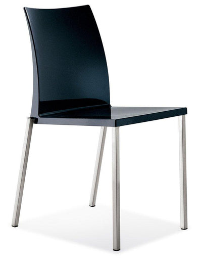 Kuadra 1271 Side Chair-Pedrali-Contract Furniture Store