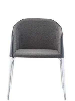 Laja Armchair c/w Metal Legs-Pedrali-Contract Furniture Store