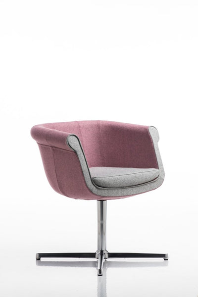 Liz Armchair c/w Spider Base-Diemme-Contract Furniture Store