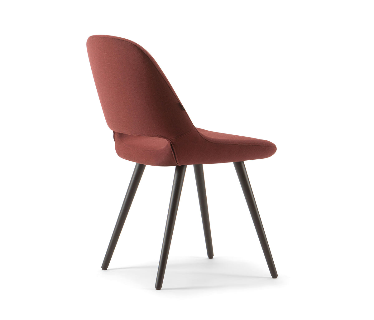 Magda 00 Side Chair c/w Wood Legs-Torre-Contract Furniture Store