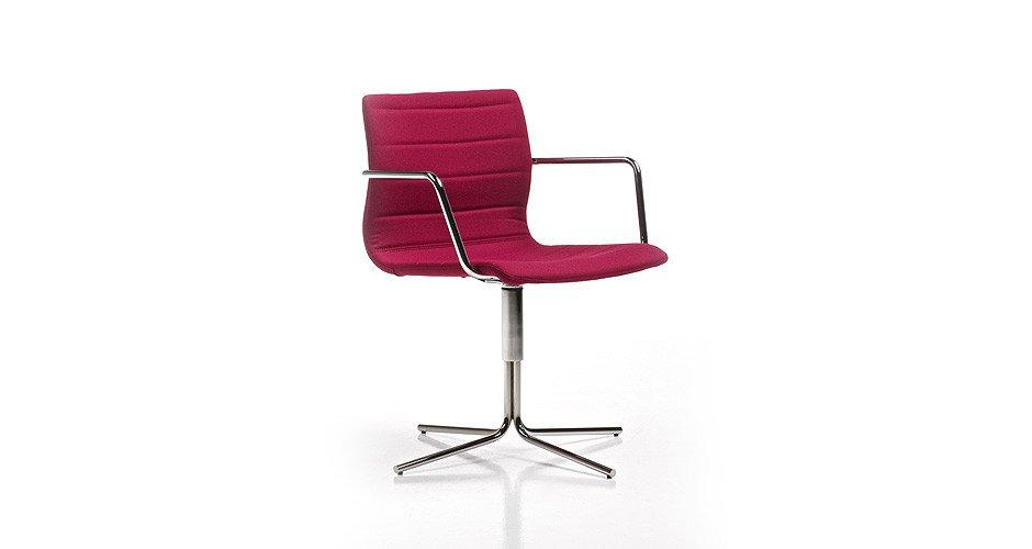 Miss Armchair c/w Spider Base-Diemme-Contract Furniture Store