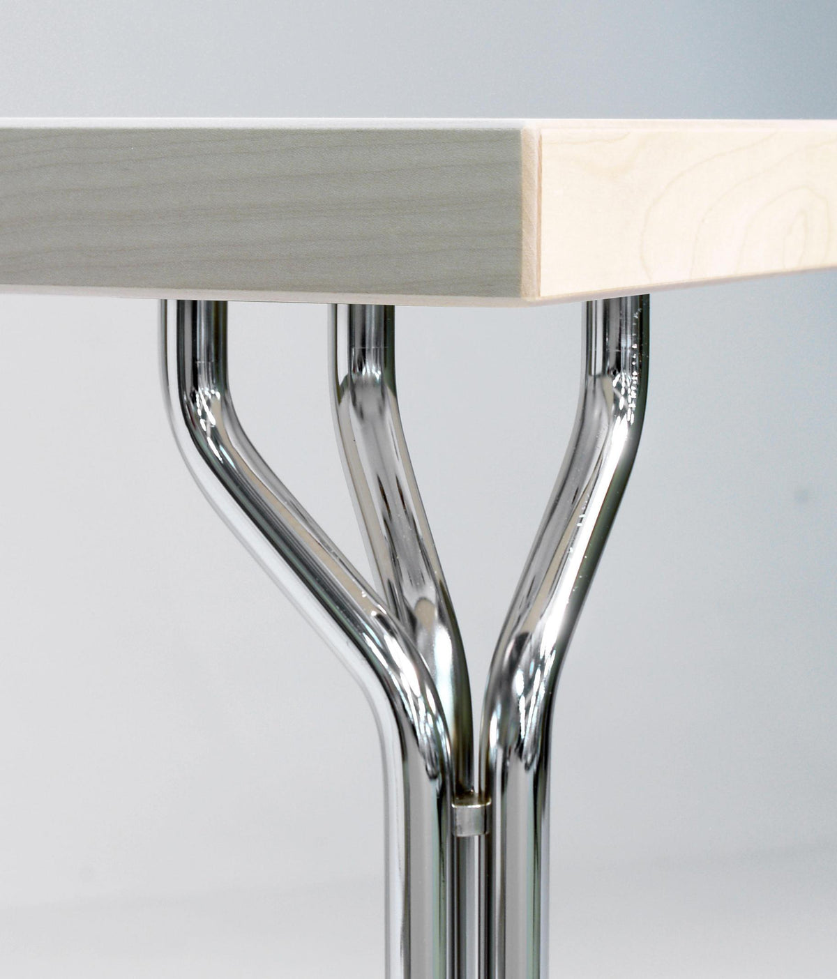 Mix Dining Table c/w Steel Leg-Magnus Oleson-Contract Furniture Store