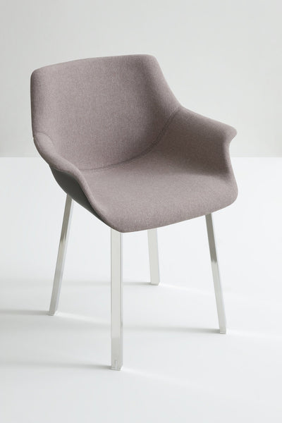 More Side Chair c/w Metal Legs-Gaber-Contract Furniture Store