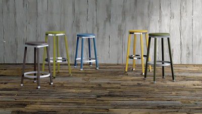 Nevada High Stool-Laco-Contract Furniture Store