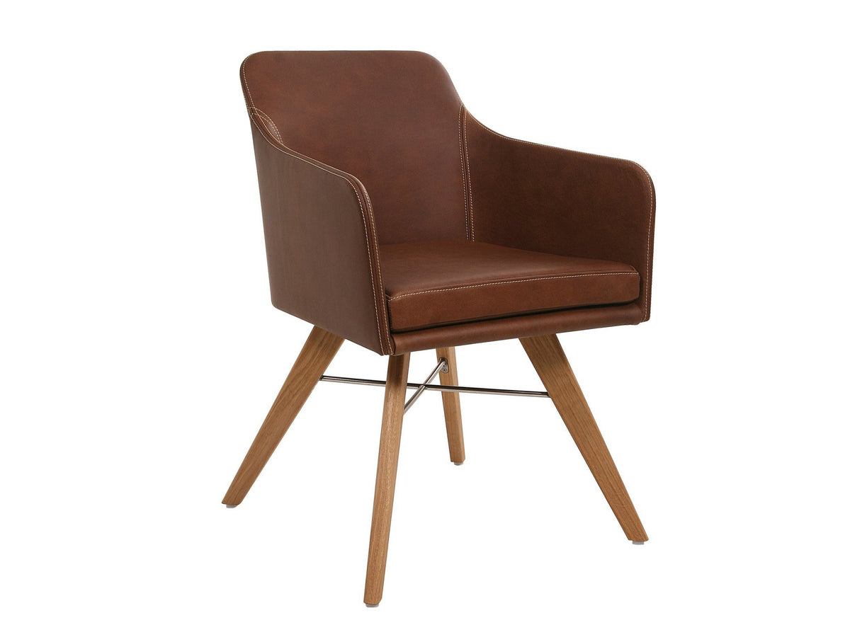 Youma Armchair c/w Wood Legs-KFF-Contract Furniture Store