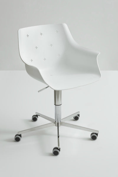 More Side Chair c/w Wheels-Gaber-Contract Furniture Store
