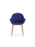 Rose Wood 0C31 Armchair-Copiosa-Contract Furniture Store