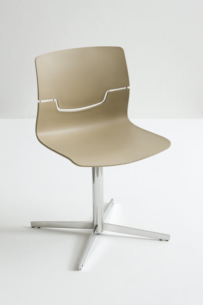 Slot Side Chair c/w Star Base-Gaber-Contract Furniture Store