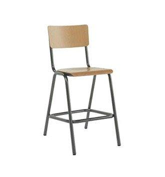 Susy High Stool c/w Metal Legs-Cignini-Contract Furniture Store