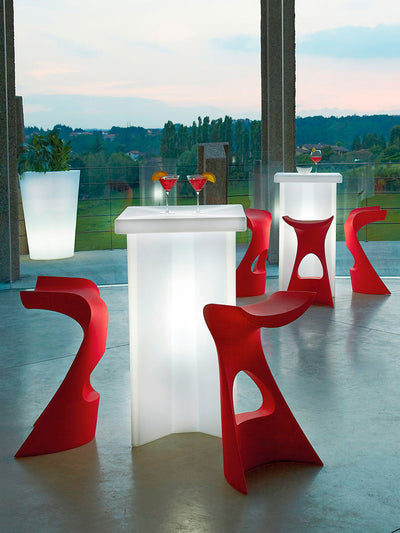 X2 Poseur Table-Slide Design-Contract Furniture Store