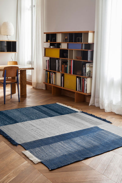 Tres Blue Rug-Nanimarquina-Contract Furniture Store