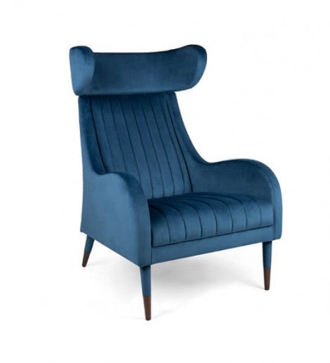 Tula High Back Wing Chair-Fenabel-Contract Furniture Store