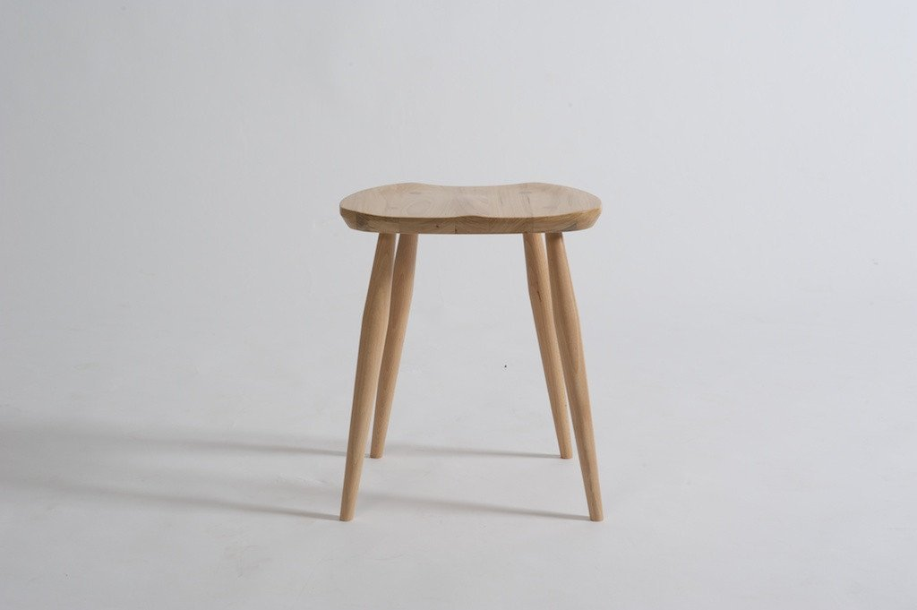 Originals Windsor Saddle Stool-Ercol-Contract Furniture Store