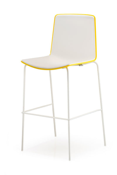 Tweet Two Tone 896 High Stool-Pedrali-Contract Furniture Store