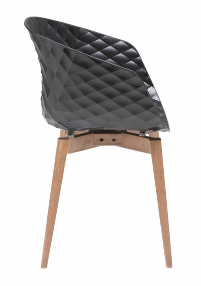 Uni-Ka Armchair c/w Wood Legs-Metalmobil-Contract Furniture Store