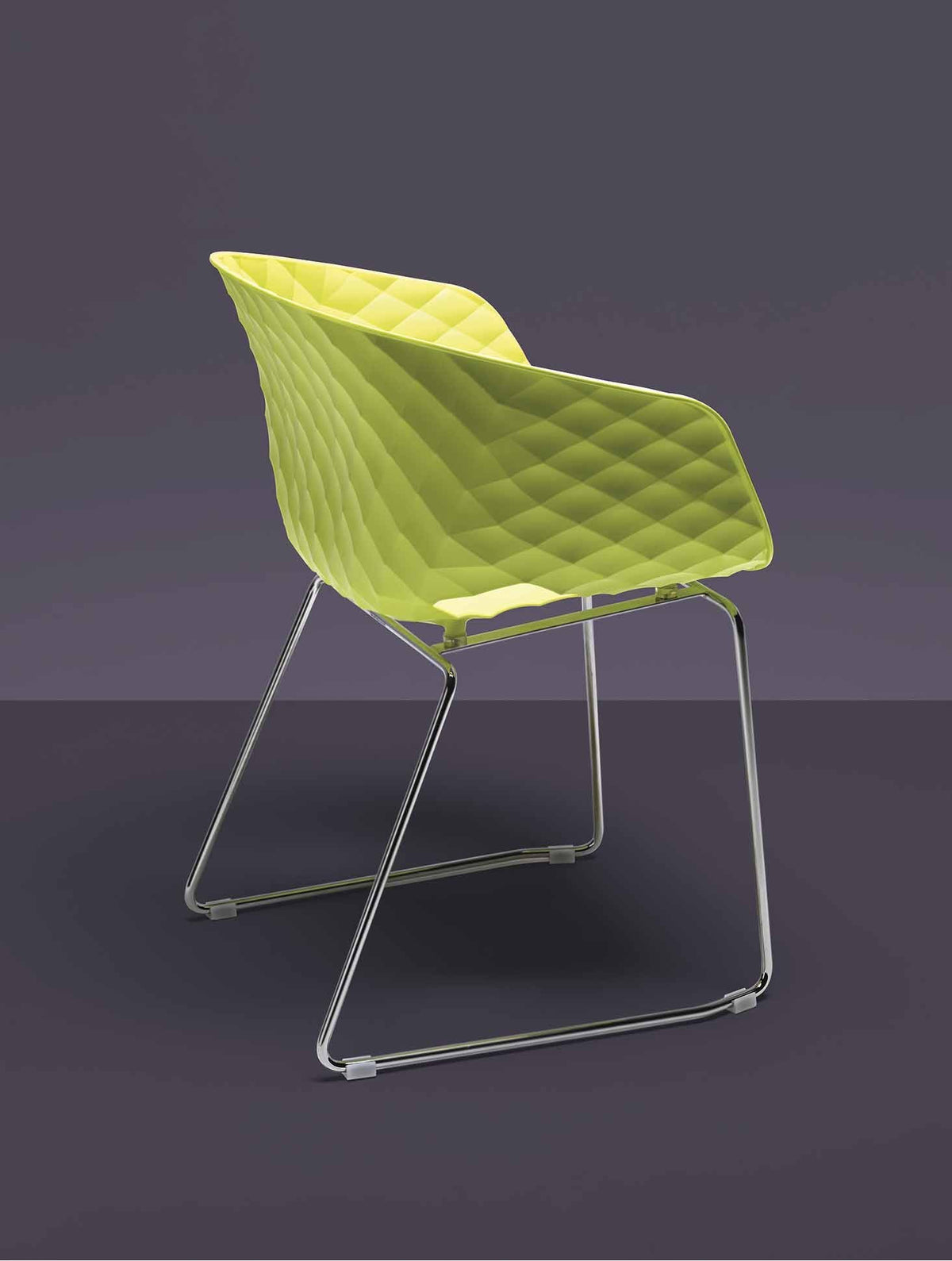 Uni-Ka Armchair c/w Sled Legs-Metalmobil-Contract Furniture Store