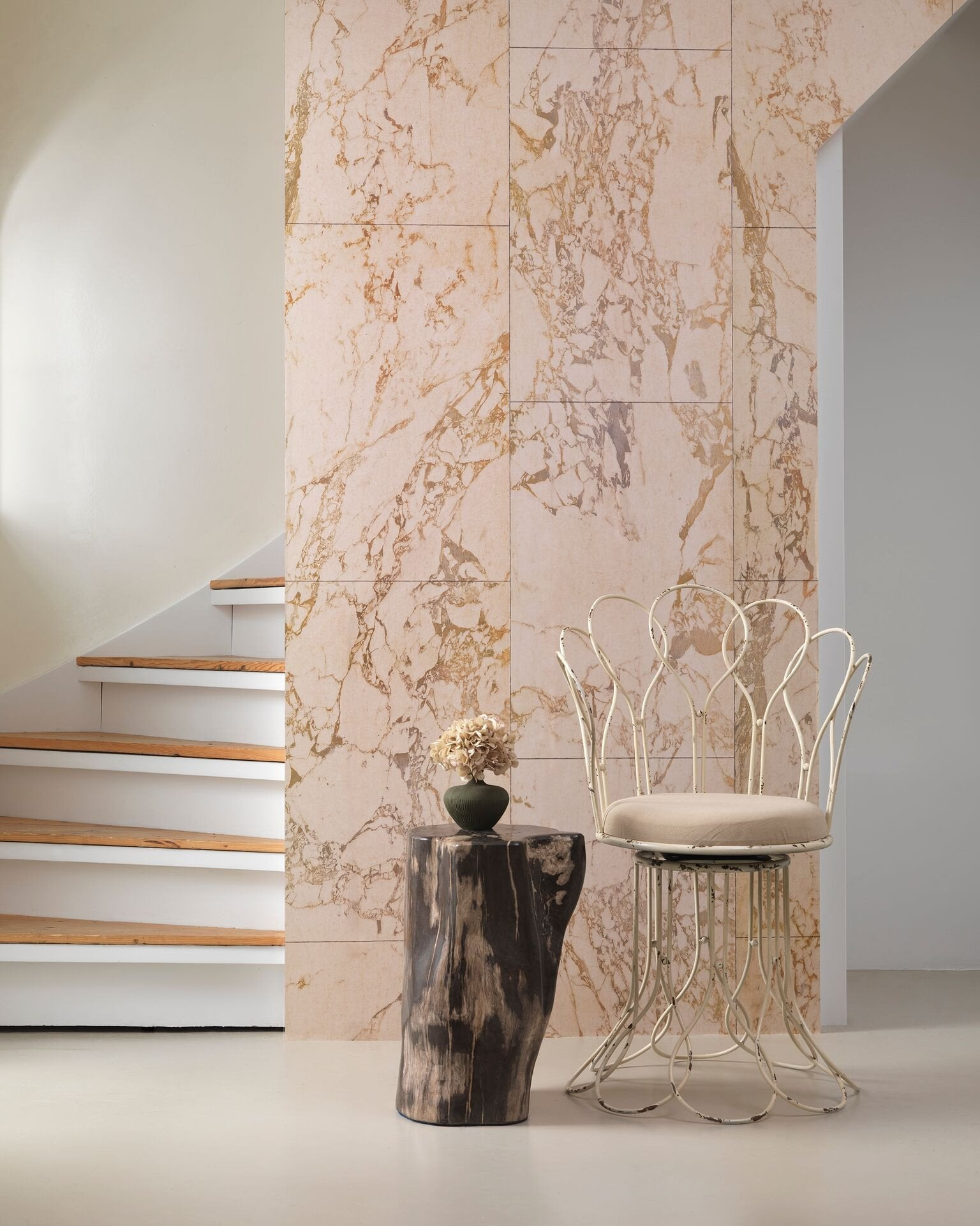 Nlxl Beige Marble Wallpaper Contract Furniture Store