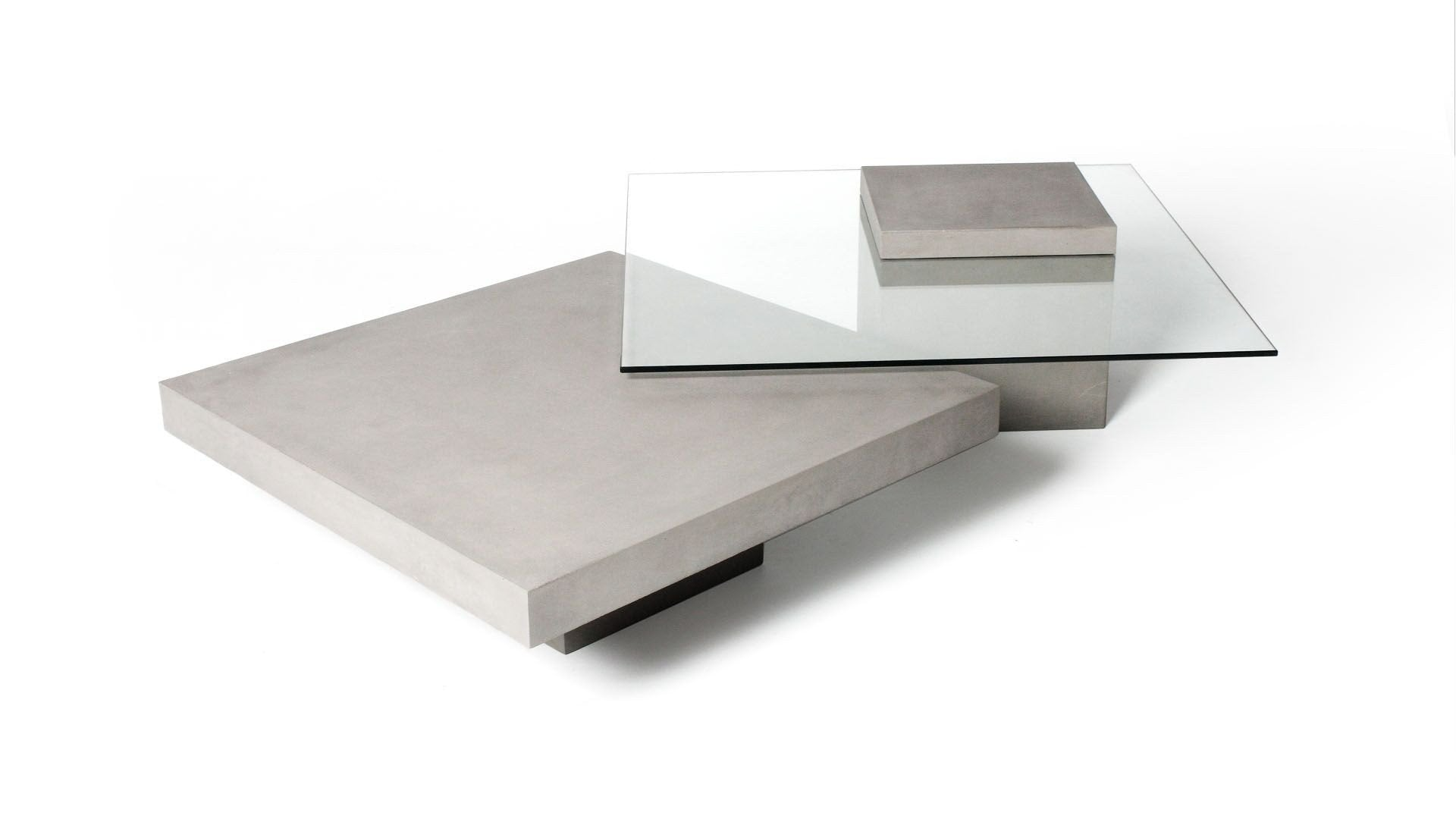 Lyon Beton T Square Concrete Coffee Table Contract Furniture Store