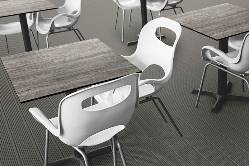 Werzalit Black Carino Table Top-Werzalit-Contract Furniture Store