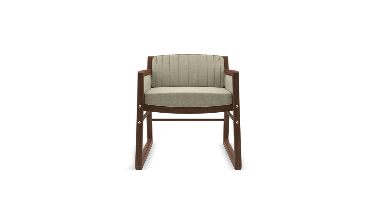 William Armchair-Wood Tailors Club-Contract Furniture Store