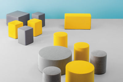 Wow Medium Cube Stool-Pedrali-Contract Furniture Store