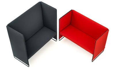 Zippo ZIP2P/140 Modular Sofa Unit-Pedrali-Contract Furniture Store