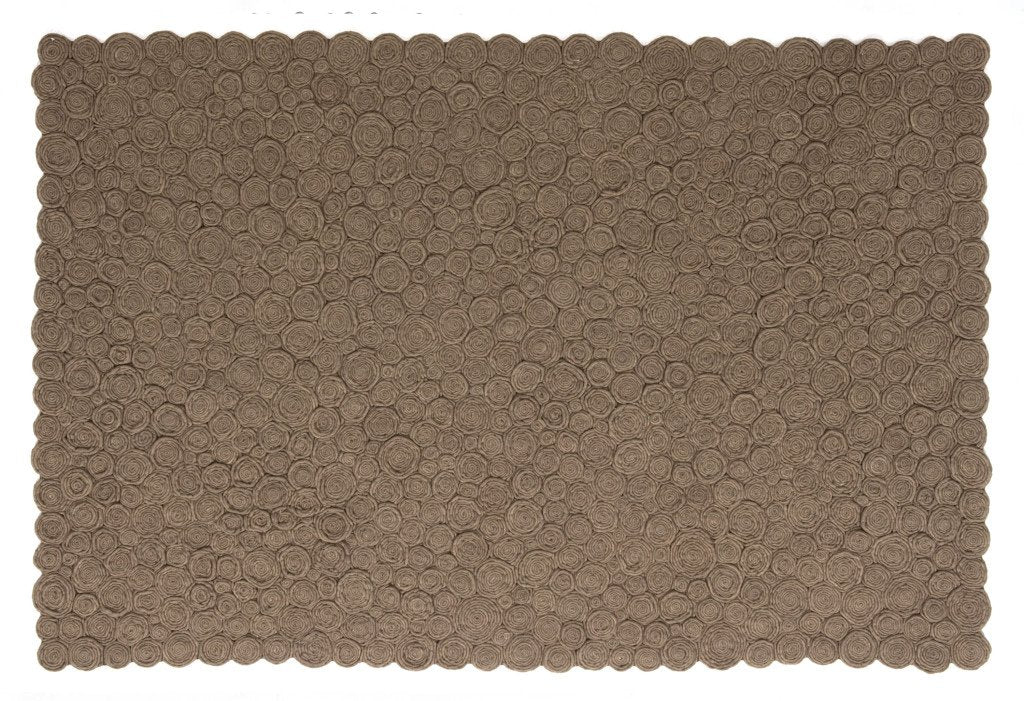 Spiral Brown Rug-Nanimarquina-Contract Furniture Store