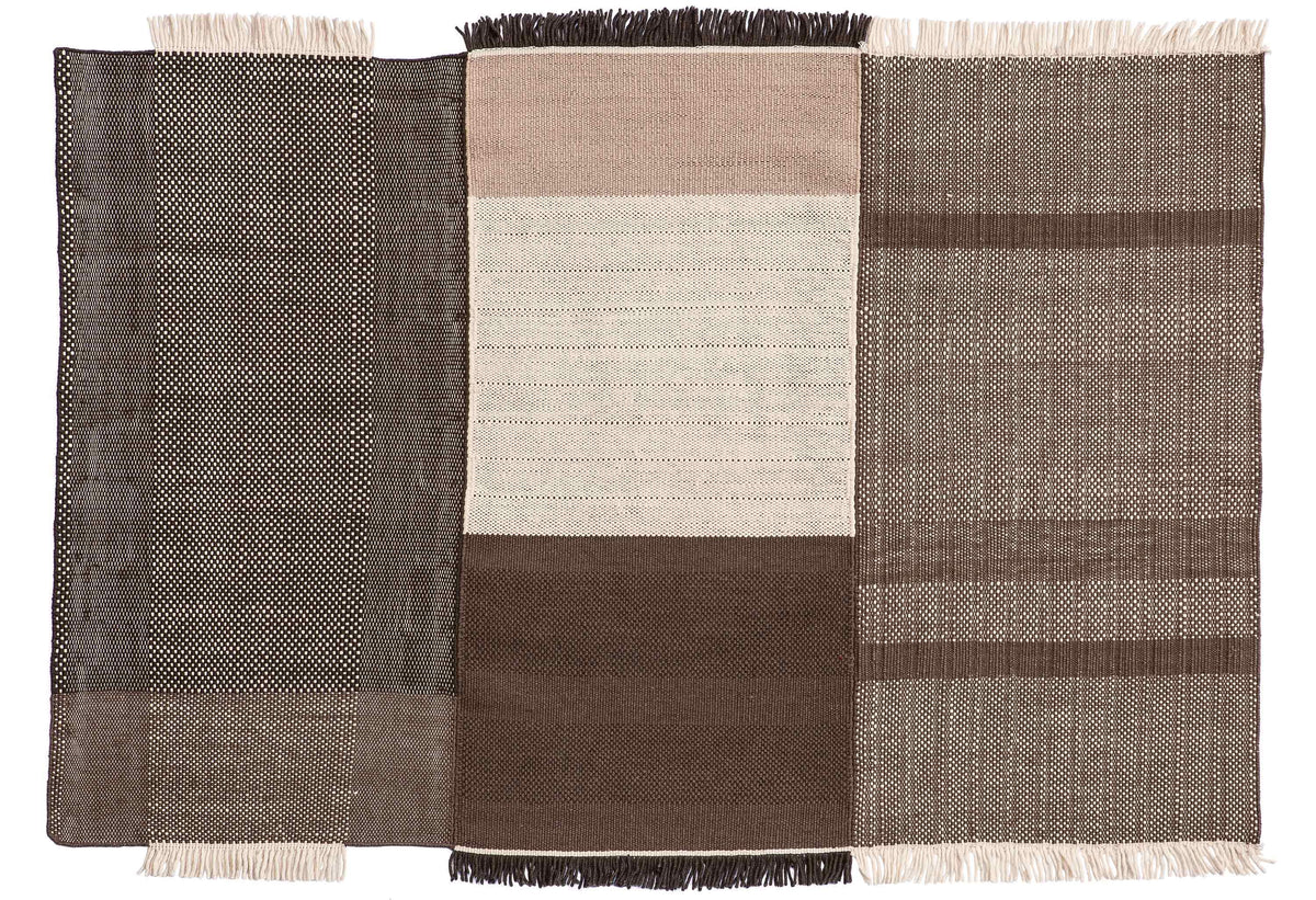 Tres Chocolate Rug-Nanimarquina-Contract Furniture Store