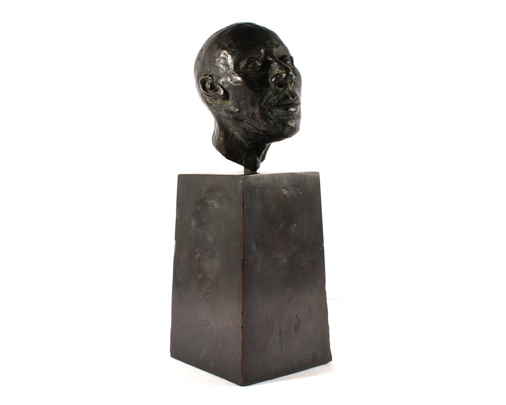 Karen Wilcox Limited Edition Bronze Sculpture of a Head