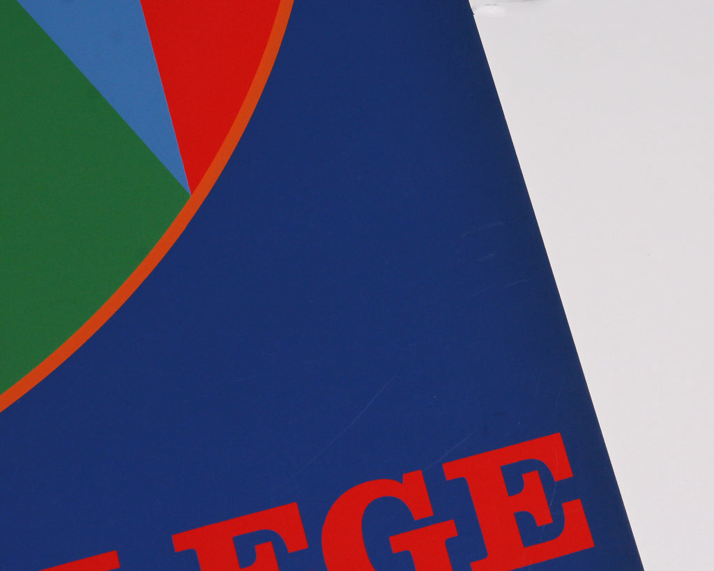 "Robert Indiana 1973 ""Colby College Art Museum"" Serigraph Poster"