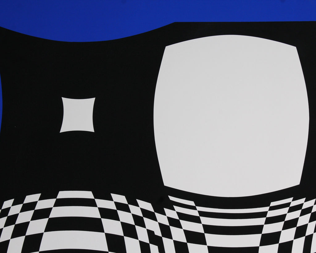 Victor Vasarely Signed Limited Edition Op Art Serigraph