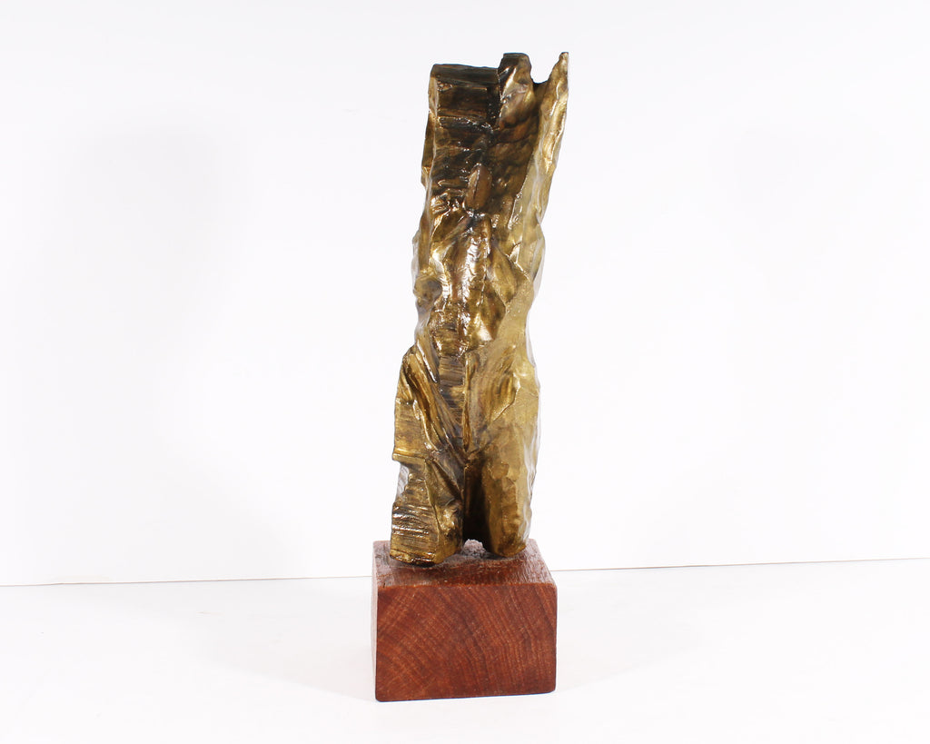 Russell Whiting Limited Edition Abstract Bronze Sculpture