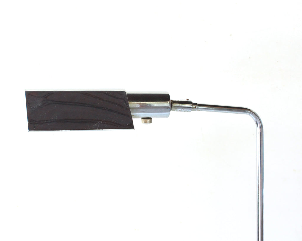 Koch & Lowy OMI Mid Century Modern Chrome Reading Lamp