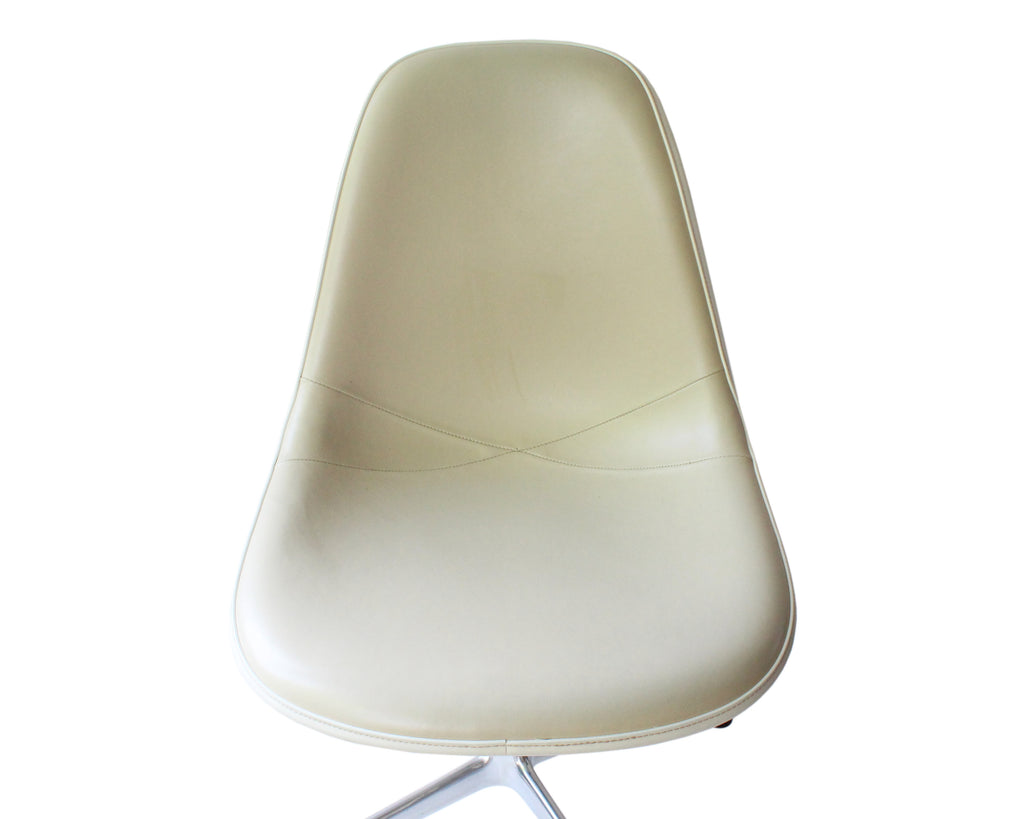 Herman Miller Eames EC431 1989 Leather Side or Office Chair