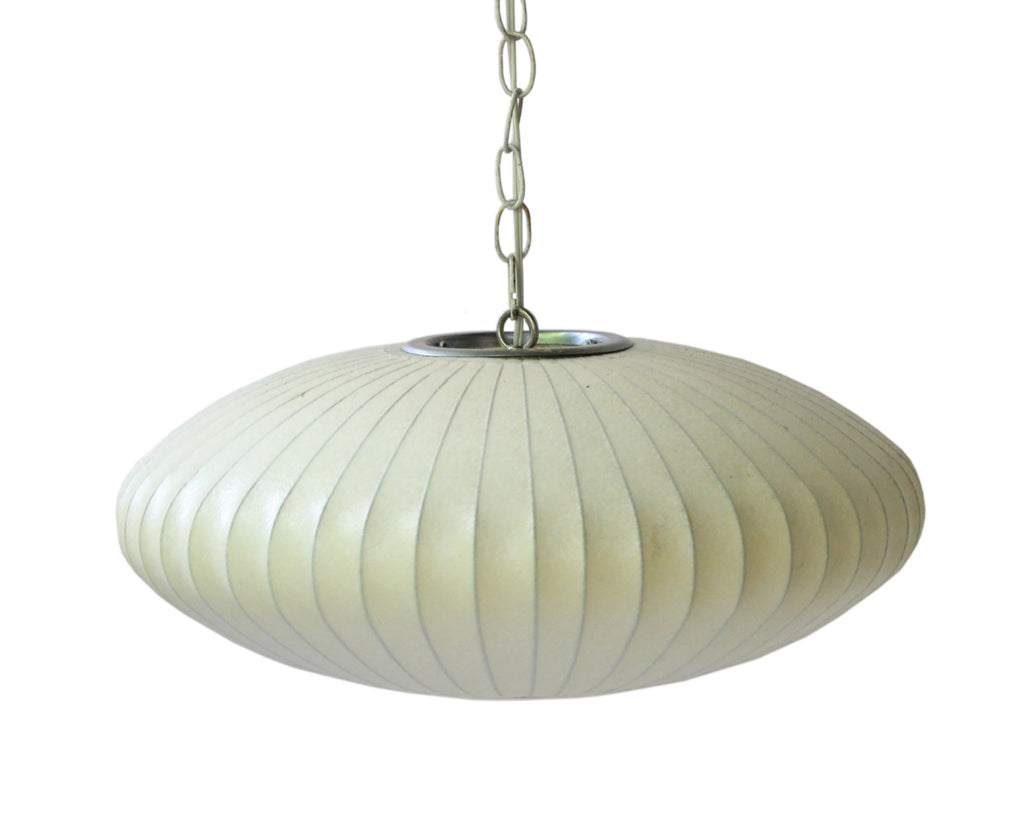 George Nelson for Herman Miller Mid-Century Saucer Bubble Pendant Light