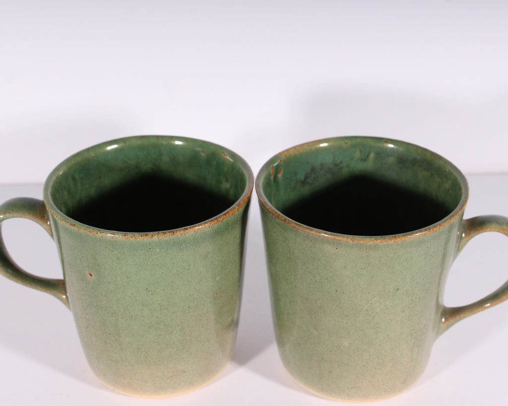 Martz Marshall Studios Green Coffee Mugs