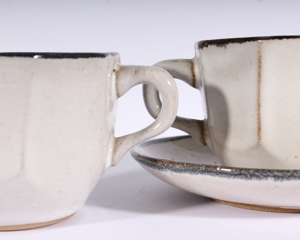 Martz Marshall Studios Teacups and Saucers