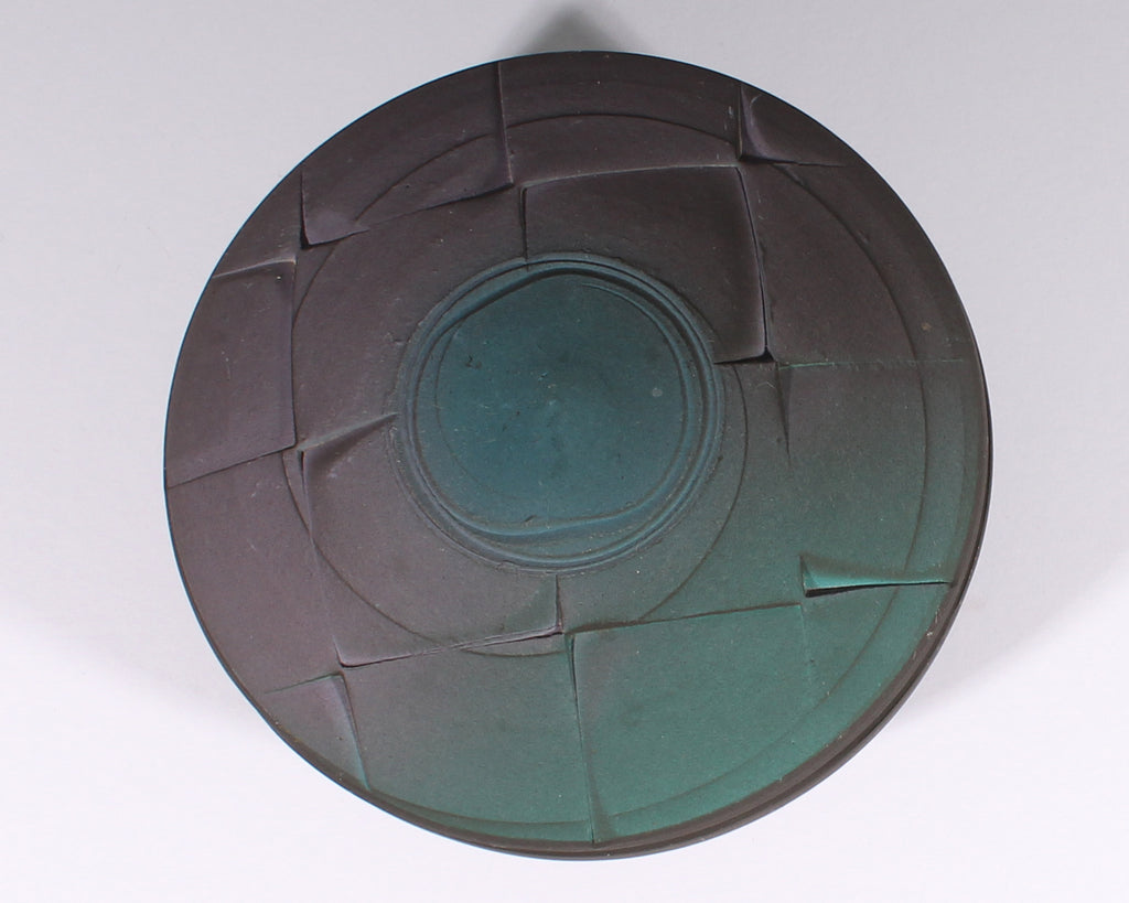 Jim Kemp Signed Studio Pottery Round Box