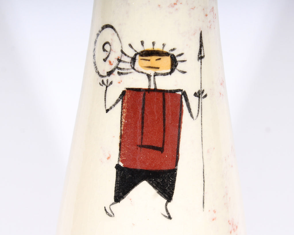 Ron Scharf #854 Mid-Century Ceramic Bottle